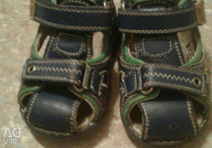 Çocuk anatomik sandalet