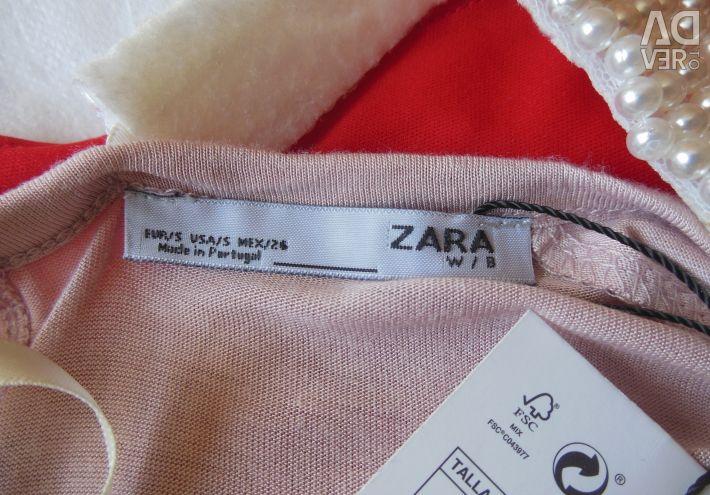 Bluză nouă de top Zara Spania originală