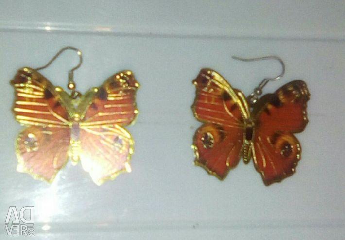 New Butterfly Earrings