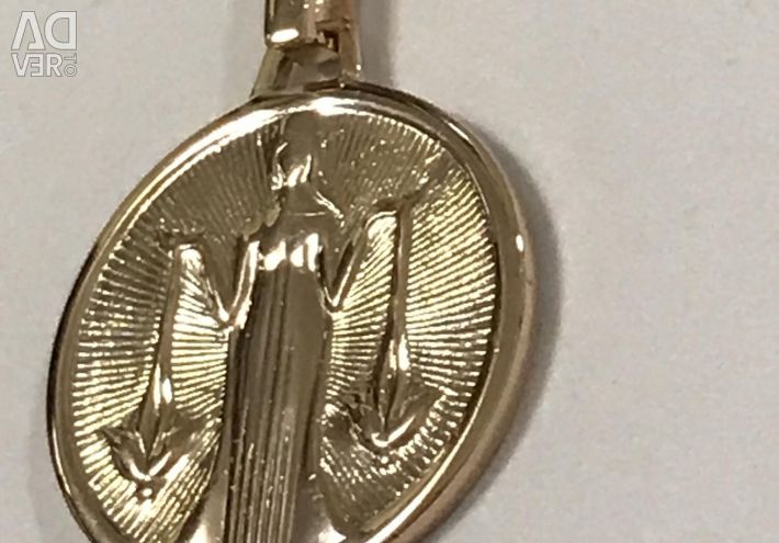 Gold Pendant Cântare 583 standard