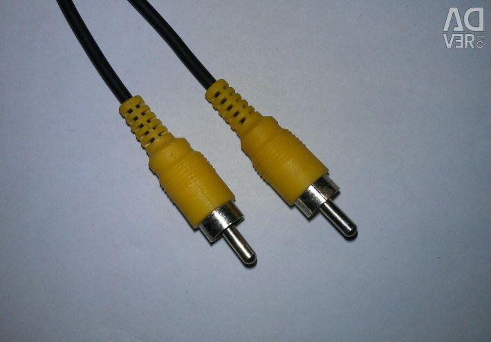 Cord interbloc audio / video cu 2 pini