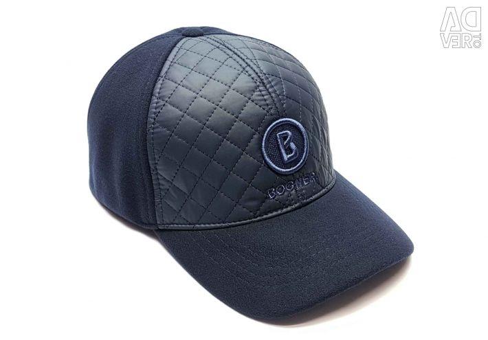 Καπέλο μπέιζμπολ χειμώνα Bogner (μπλε)