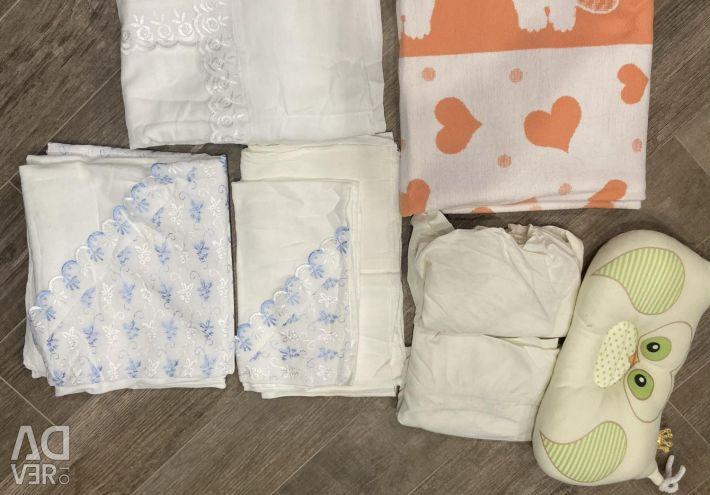 Baby bedding standard stuff package