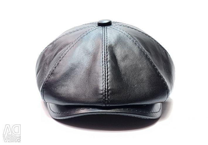 Cap gavroh eight-blade genuine leather