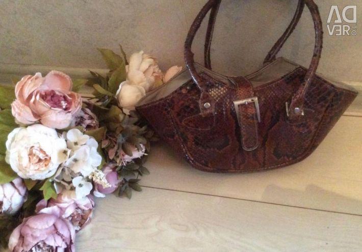 Bag brand natures python skin