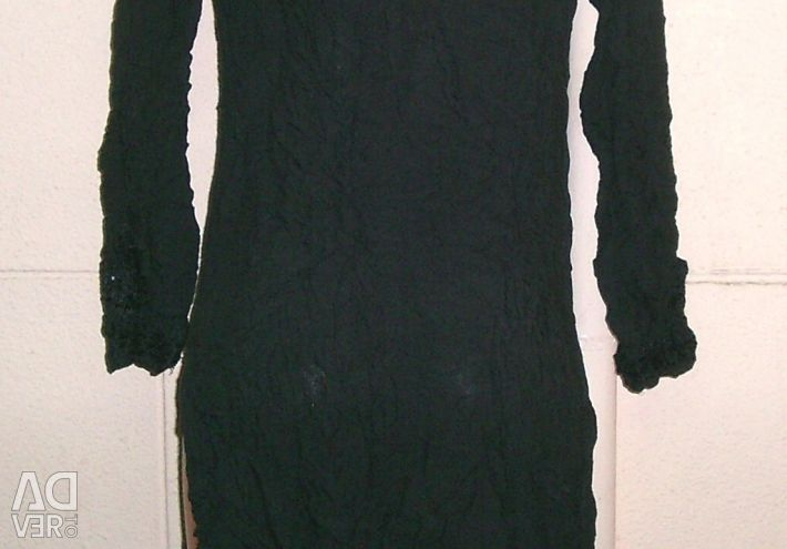 Dress with cuts