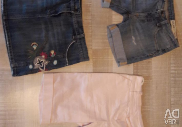 Jeans jeans and denim shorts italy