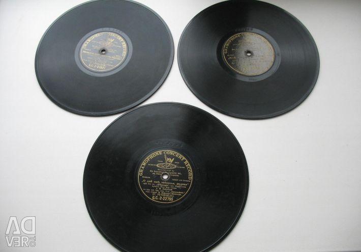 Gramaphone plates.Drevolutionary