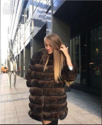 Αρματικό παλτό αλεπού