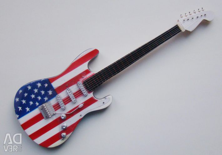 Guitar souvenir. Height 24 cm