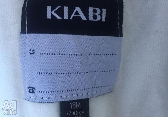 SUCCESS?NEW cool KIABI jumpsuit 9/18 months??