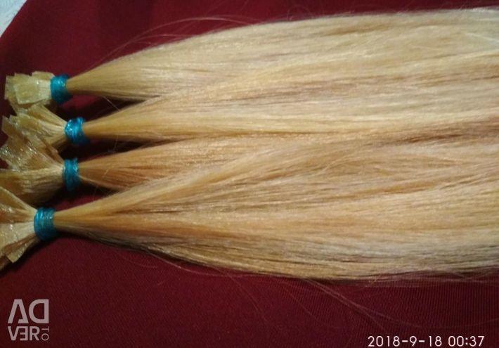 Hair 35 cm blond