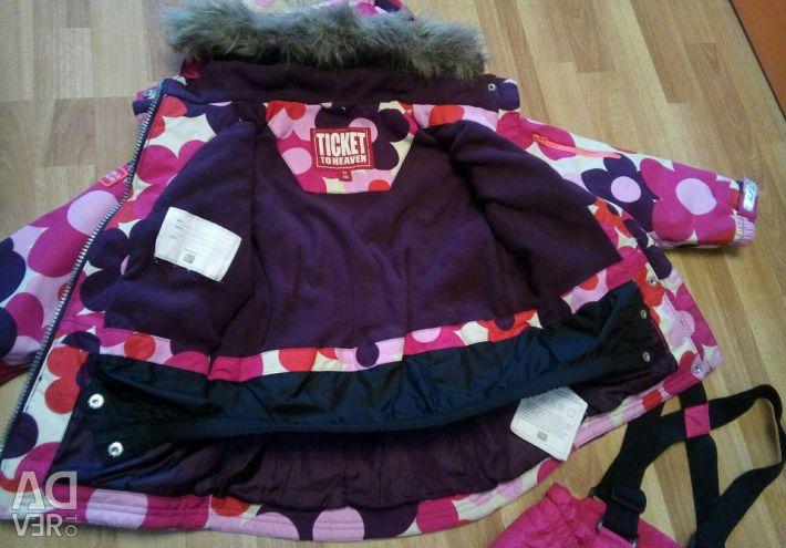 Jacket TICKET to HEAVEN, height 110-125