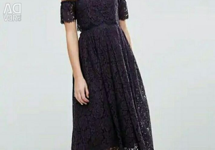 Rochie cu dantelă