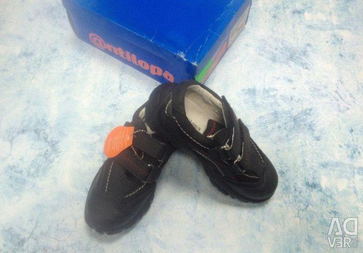 New low boots antilopa demi-season