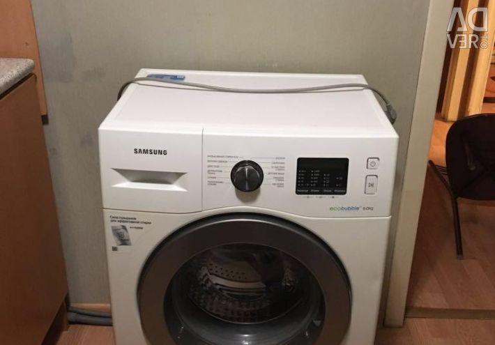 Washing machine WW6000J, Eco Bubble, 6 kg