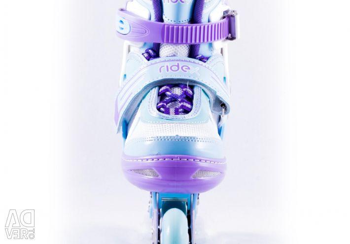 Ковзани роликові Ridex Sweety, розмір 38-41