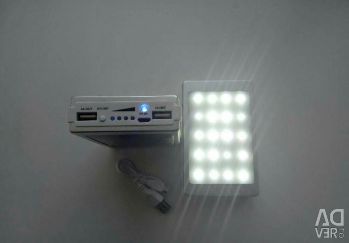 POWER BANK 20000 + UV + FLASHLIGHT