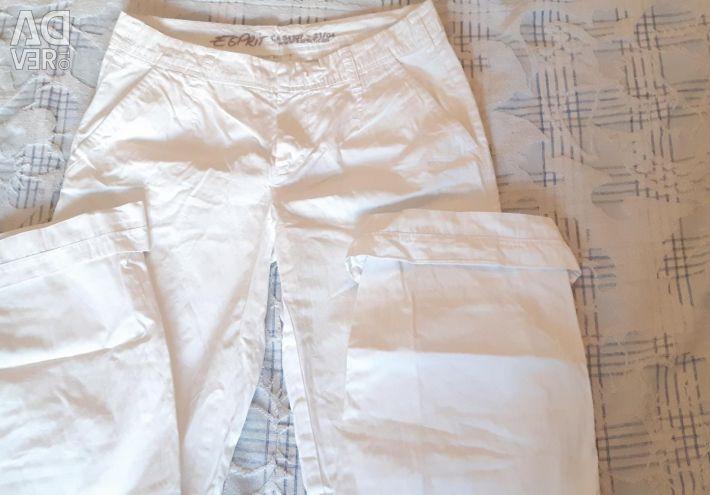 Белоснежные штаны