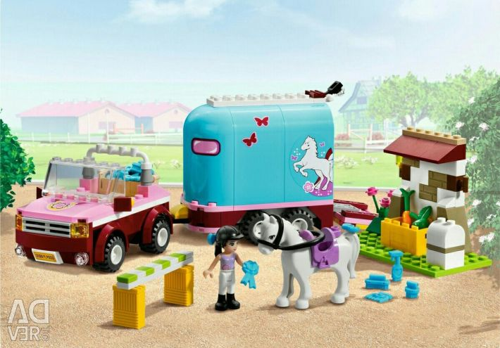 Lego friends 3186 horse van