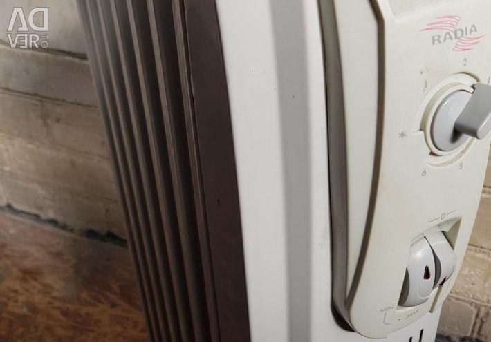 Heater oil heater