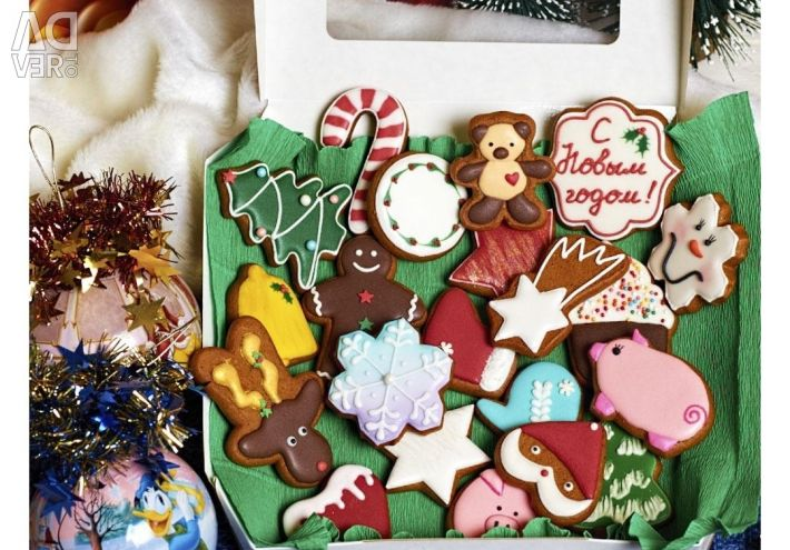 Gingerbread for New Year and holidays