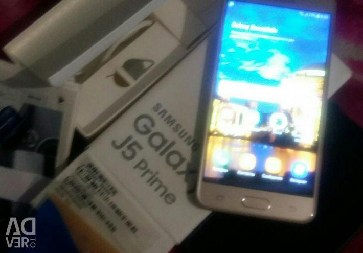 SAMSUNG GAIAXY J5 prime gold