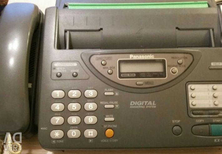 Phone fax.