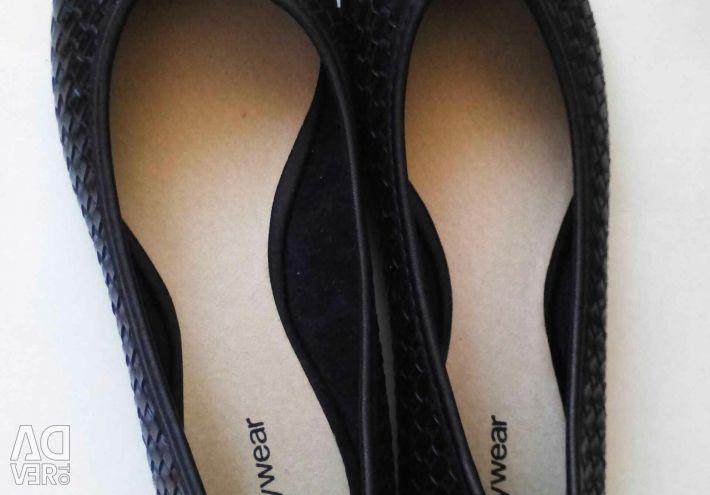 Ballet shoes, new shoes