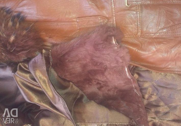 Δερμάτινο μπουφάν από δέρμα