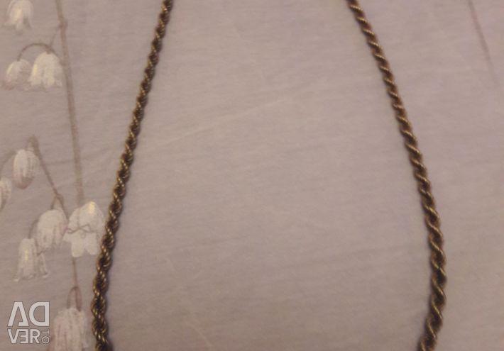 55cm ασημένια αλυσίδα