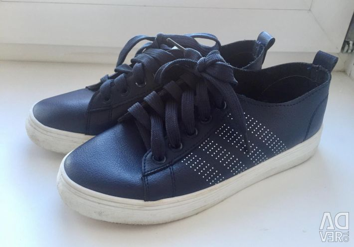 Sneakers leather stylish river 36-37
