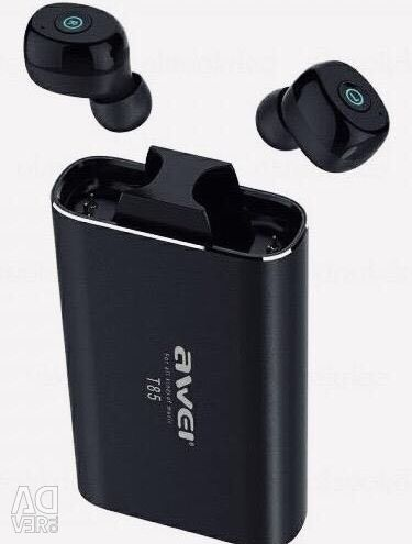 Wireless headphones Awei T85 + PowerBank Original