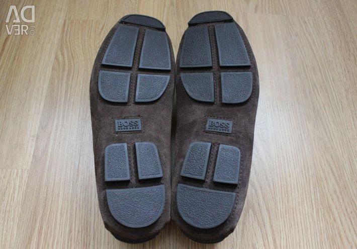 Suede HUGO BOSS shoes