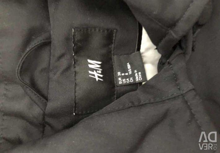 Пальто плащ тренч hm