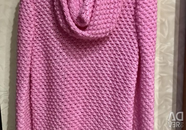 Knitted sweater (handmade) new