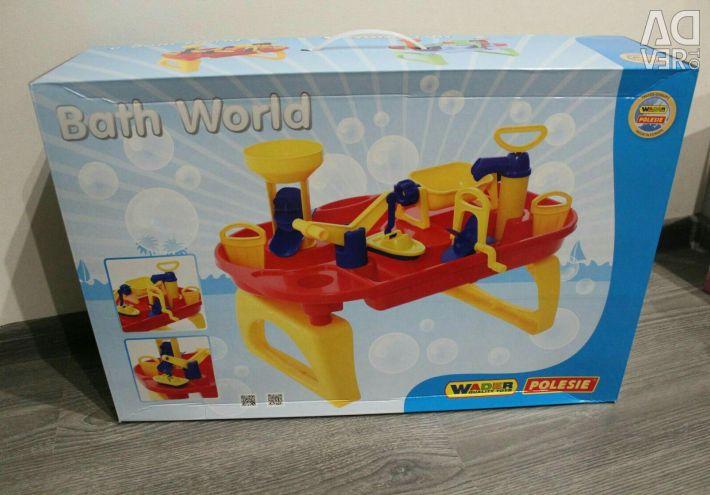 Παιχνίδι κόσμο κόσμο νερό