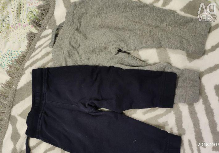 Sonraki 9-12 ay pantolon