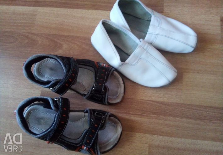 Sandals Antilopa and Czechs 28 times,