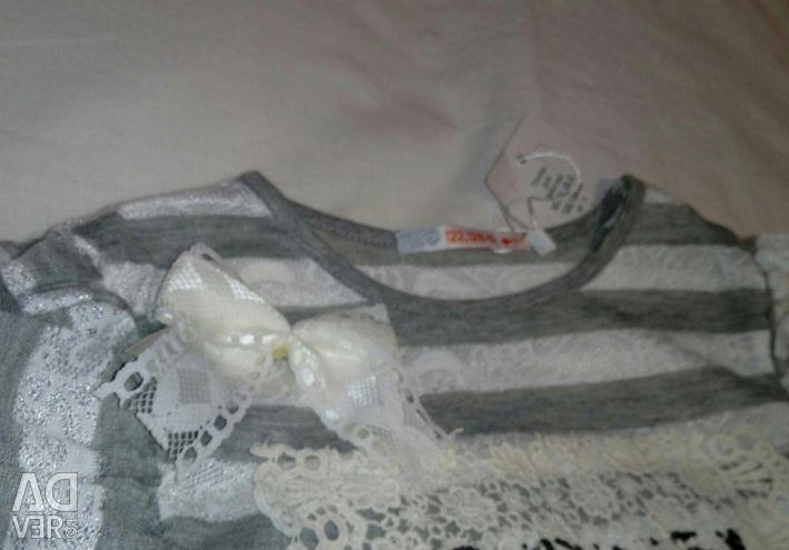 Rost122-128 için elbise tunik