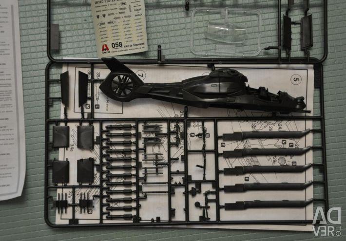 Μοντέλο ελικόπτερο ομάδας RAH-66 Comanche Italeri