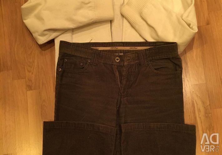 Куртка вельвет і штани розмір М