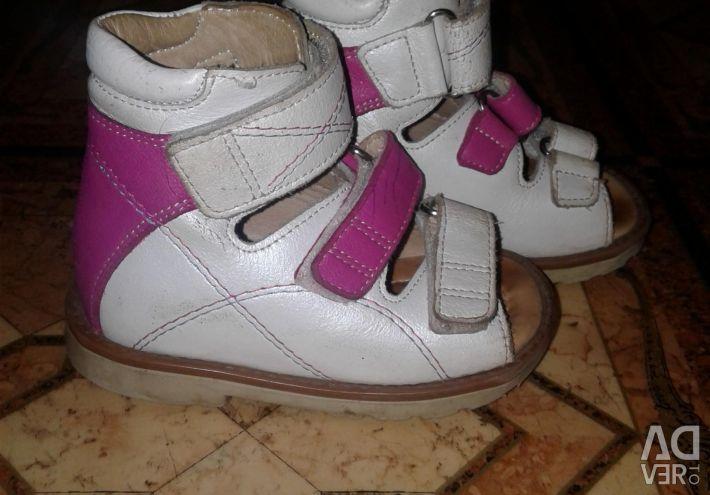 Orthopedic shoes.