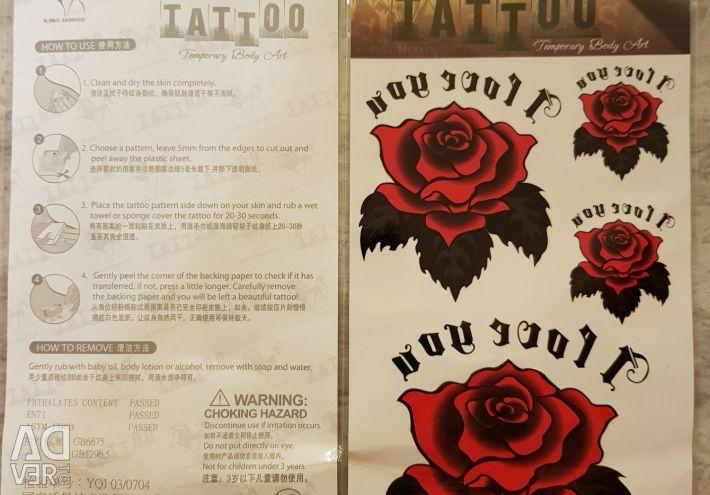 Tatuaj temporar.