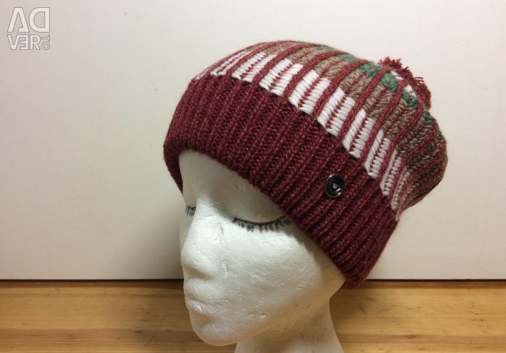 Fashionable teenager's hat with a pompon, 54-57, art 296