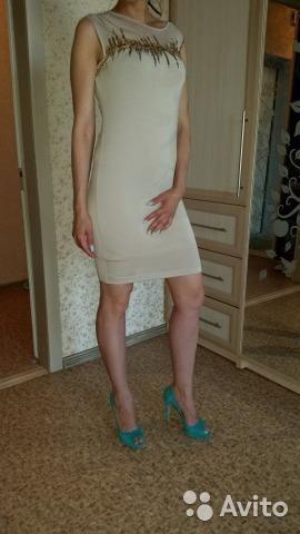 Вечернее итальянское новое платье