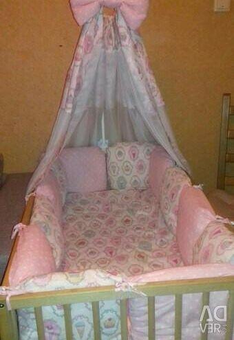 Bortics in the crib