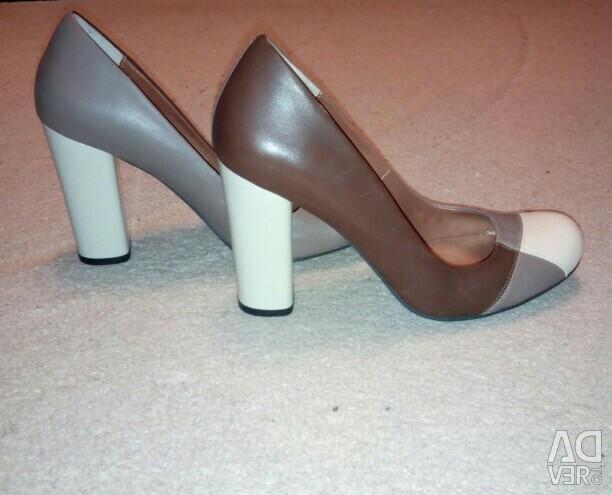 Pantofi nat piele