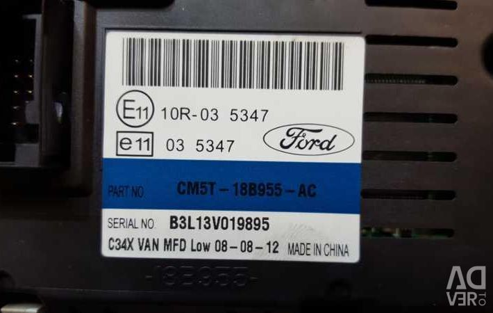 Display information Ford Focus 3