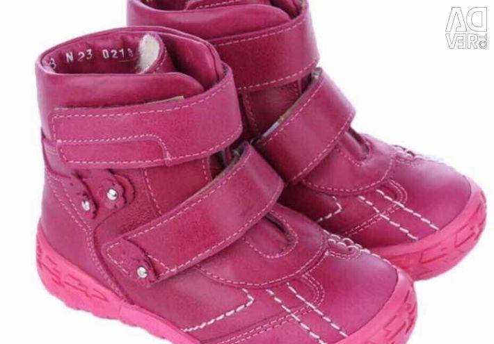 Μπότες για κορίτσια ζεστά